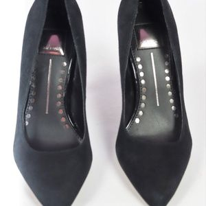 BRAND NEW DOLCE VITA BLACK SUEDE PUMP